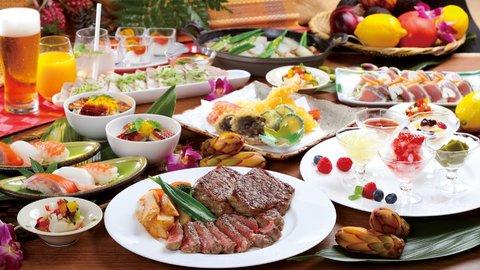 ステーキにお寿司に天ぷらまで食べ放題!コスパ最高の「オーダーバイキング」開催中
