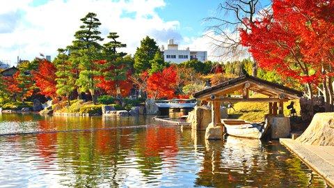江戸時代へタイムトリップ。歴史あふれる名古屋「徳川園」で自然を満喫